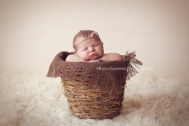 Clinton, Oklahoma newborn photography
